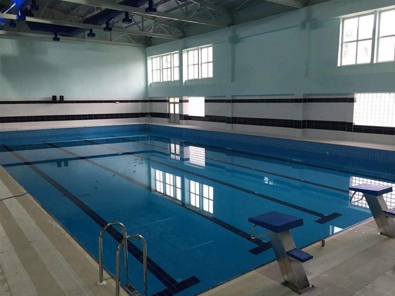 Olimpik Havuz Havalandırması